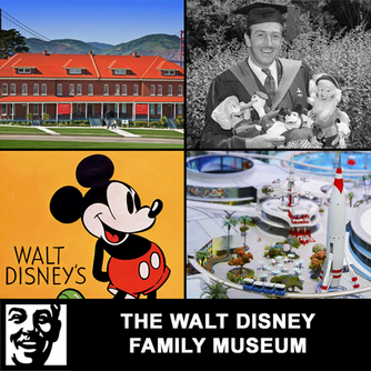 We enjoyed visiting the Walt Disney Family Museum and having lunch at their Cafe in San Francisco Ca