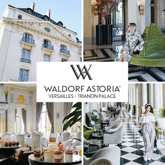 We had a wonderful stay at the Waldorf Astoria Versailles - Trianon Palace and dinner at La Veranda