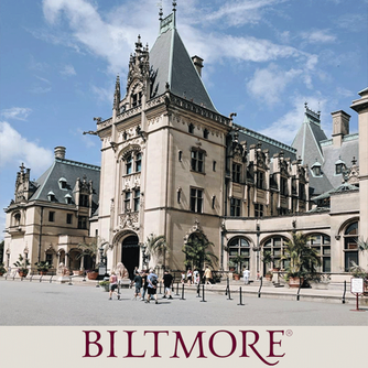 Spend the day at the beautiful Biltmore House & Gardens in the Blue Ridge Mountains of Asheville