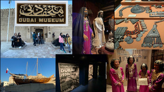 Visit the Dubai Museum- the oldest existing building in Dubai built in 1787