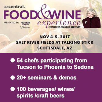 We loved attending the azcentral Food & Wine Experience Featuring Martha Stewart!!
