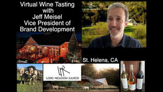 Jeff Meisel explains full circle farming at Long Meadow Ranch in St Helena, CA during this unique an