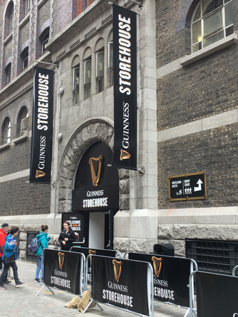 We had a great time at the Guinness Storehouse in Dublin Ireland