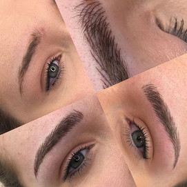 Semi permanent make up performed by mach