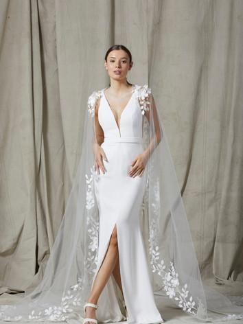 Alika Cape & Haisley Dress