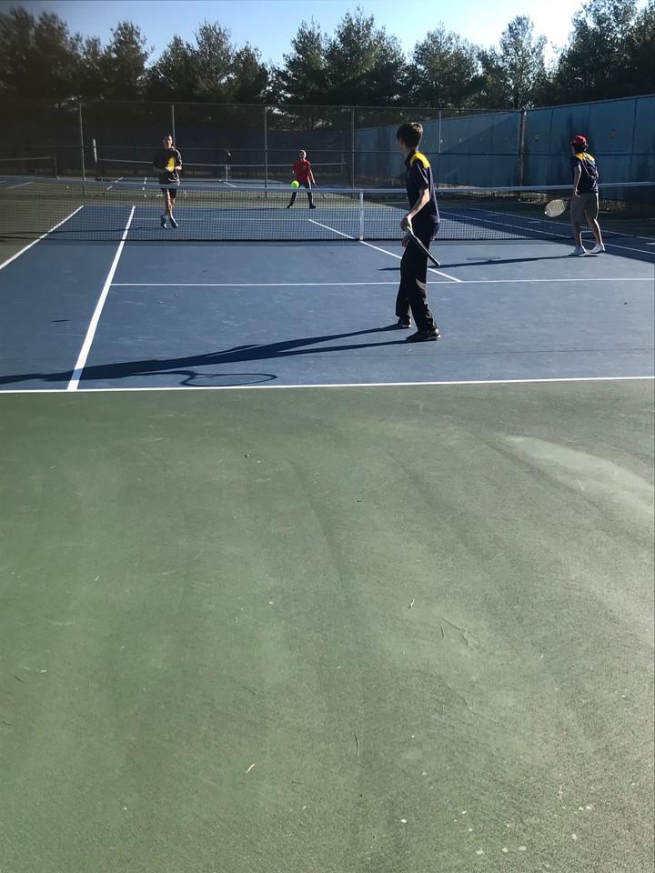 """EHHS Boy's Tennis """"Love"""" New Head Coach"""