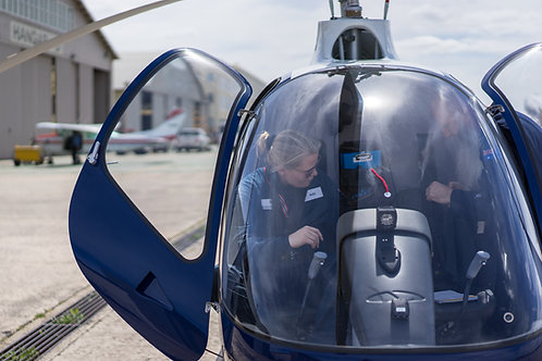 Your first helicopter lesson | Guimbal Cabri G2/R22