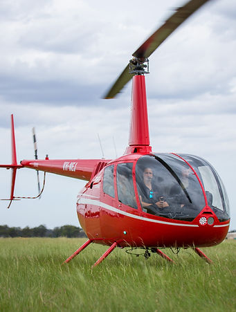 Robinson R66 Turbine helicopter with pas