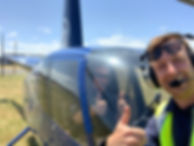 Helicopter selfie 6