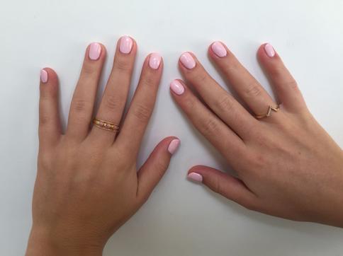 Manicure met gellac