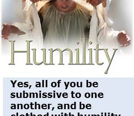 Origin of Humility