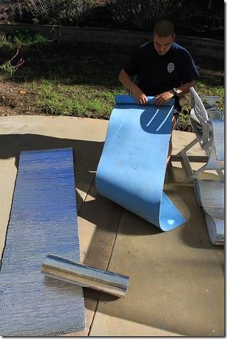 Attic Insulation Ground pad