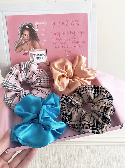 Mystery Scrunchie Pack - Plain & Printed