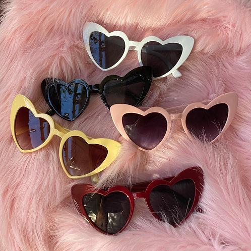 Love Heart Sunglasses