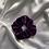 Thumbnail: Dark Purple Velvet Scrunchie
