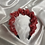 Thumbnail: Valentines Two-Tone Scrunch Headband