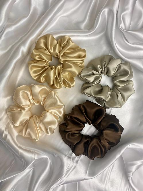 Nudes - Luxury Satin Scrunchie Box