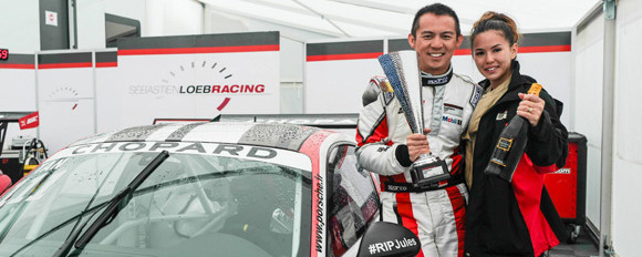 Podium finish for Yuey Tan in Spa-Francorchamps
