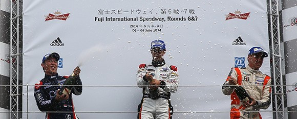 Tan enjoys Fuji success!