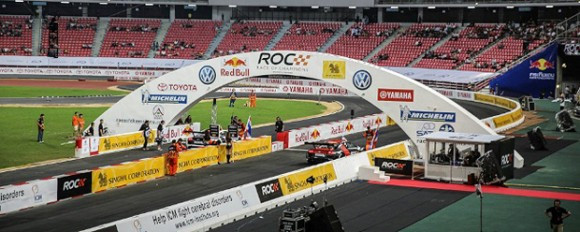 Dorr McElrea crew visit Race of Champions!