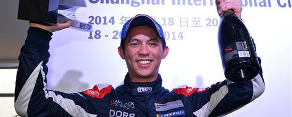 Double podium finish puts Tan back in hunt!