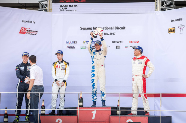 DNF in Sepang but now leading the Pro Am Championship