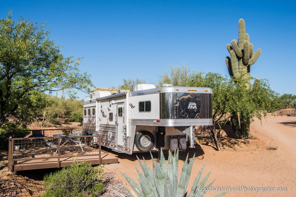 Trailer and RV parking and hookups