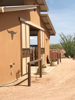 Luxury open air barn