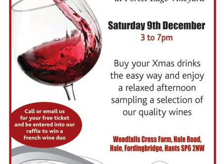 Xmas Wine Event at Forest Edge Vineyard