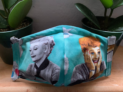Adult I Love Lucy Mask