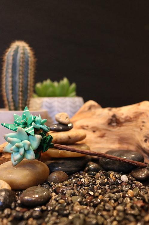 Mrs. Pointy-Moisture Stick, Aerator, Planter Bling