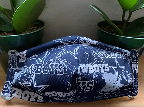 Adult Cowboys NFL Mask