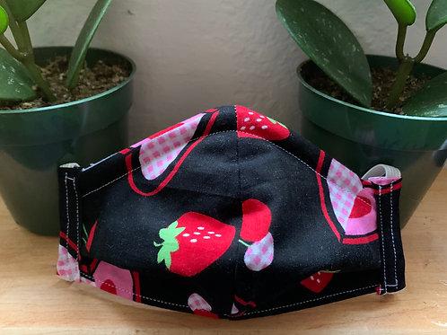 Kids Strawberry Mask