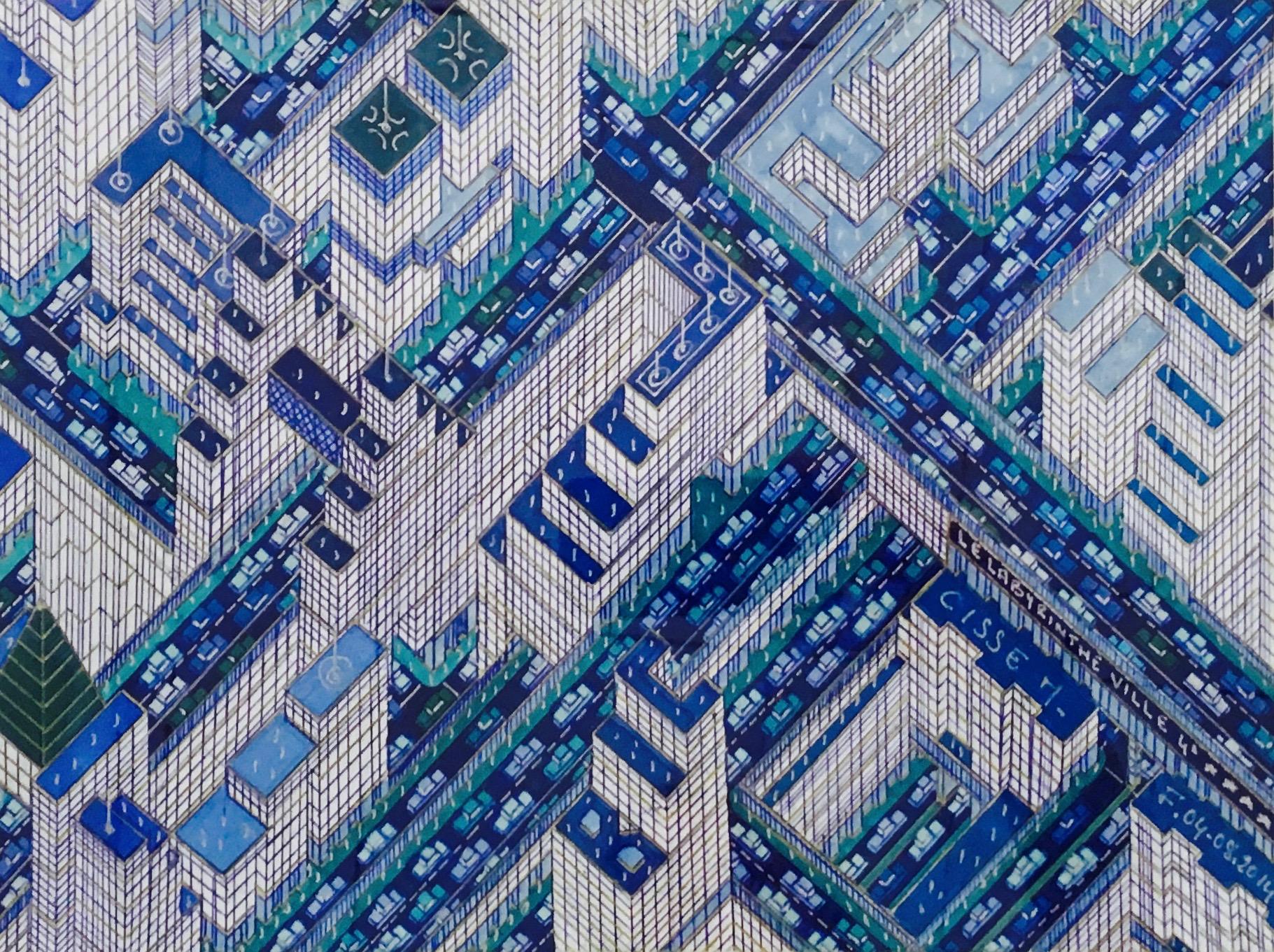 Labyrinthe ville bleue I