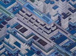 Labyrinthe ville bleue II