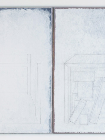 PERSPECTIVE SENTIMENTALE DIPTYQUE 240x170cm