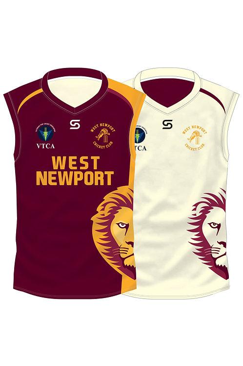 WNCC Reversible Cricket Vest