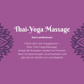 Yoga-Thai Massage mit Susi Landmesser
