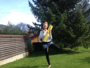 Yoga zu Hause - Outdoor Yoga Interlaken und Meiringen