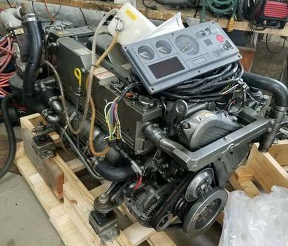 Used-Yanmar-6LP-STP-315-HP-Turbo-Marine-