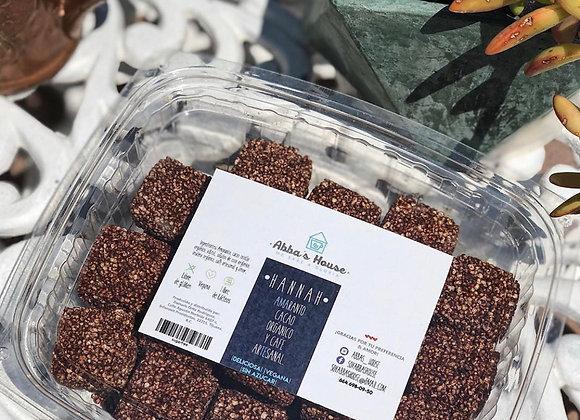 Box 40 squares of amaranth sugar free
