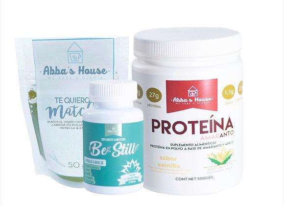 Protein-Be Still-Matcha Kit