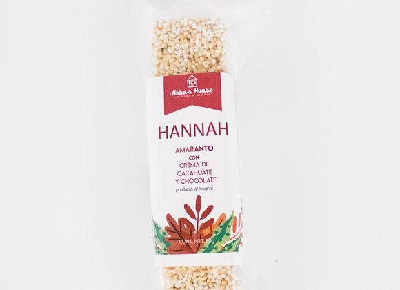 Hannah Amaranth Bar with Peanut Butter