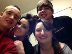 TJ, Sam, Ariana, & Sean