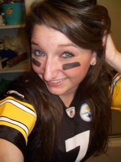 Ariana's Steelers Jersey