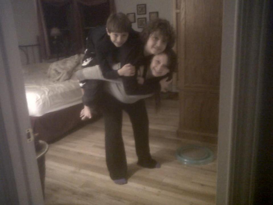 Ariana, Christian, & Colin