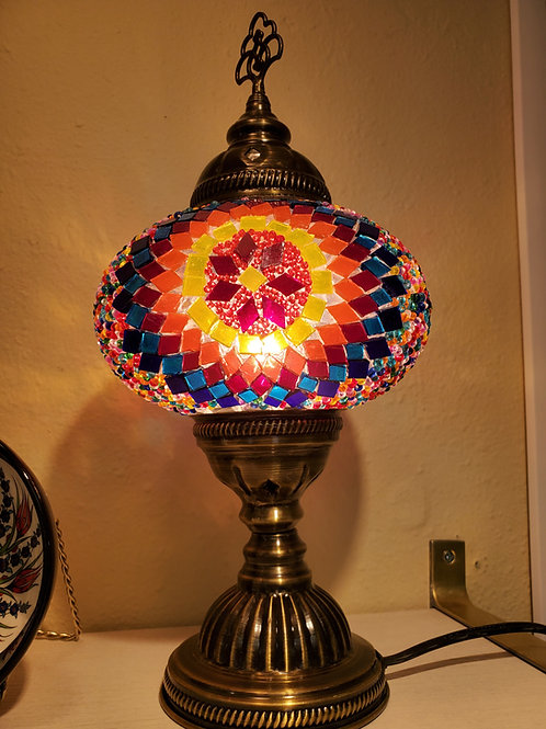 Turkish Mosaic Table Light