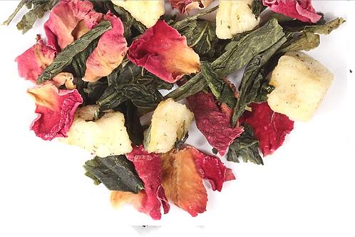 Lychee Rose Green Tea- 60 gr (20x3 gr teabags)