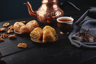 Turkish traditional Dessert Baklava with