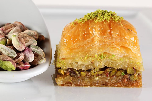 Special Baklava with Pistachios- 4 pieces box